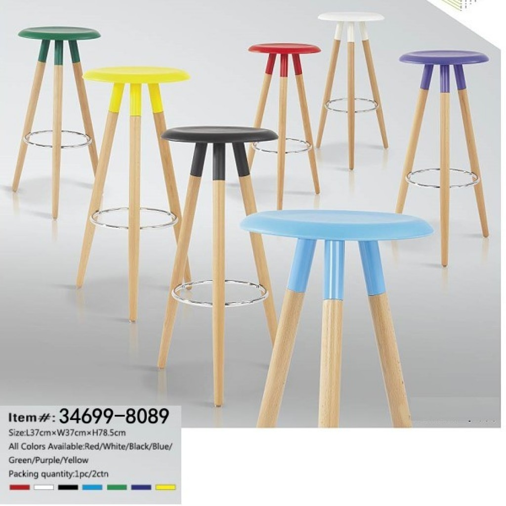 34699-8089 Wooden Bar Chair