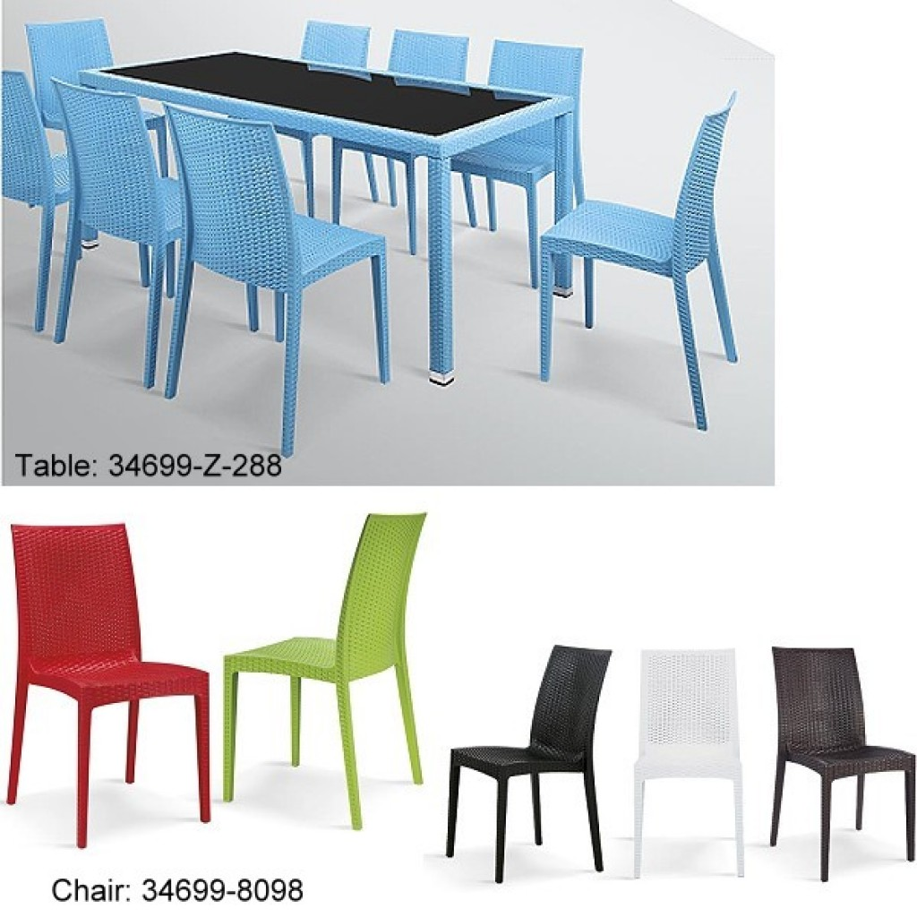 34699-8098 Plastic Dining Chair