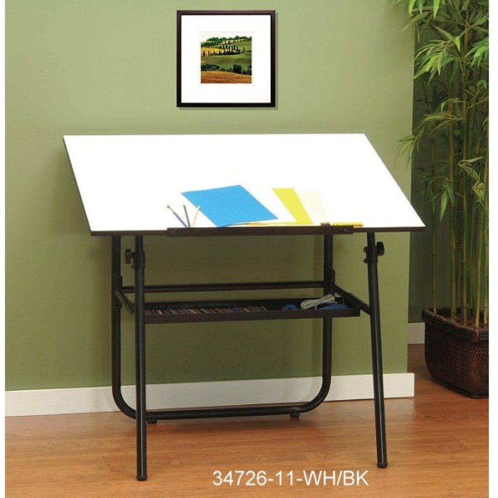 34726-11 Children adjustable drawing table