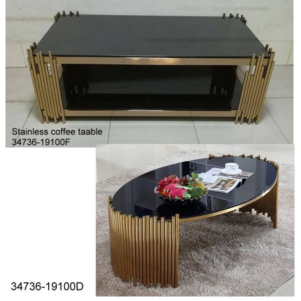 34736-19100-FD Stainless Coffee table