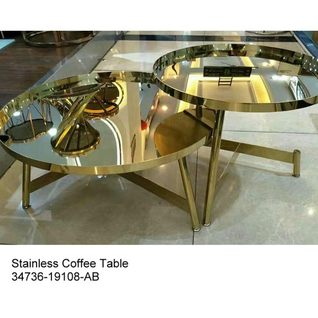 34736-19108-AB Stainless Coffee table