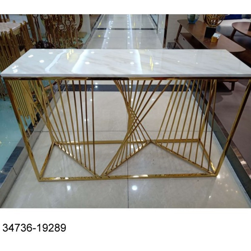 34736-19289 Stainless Console Table