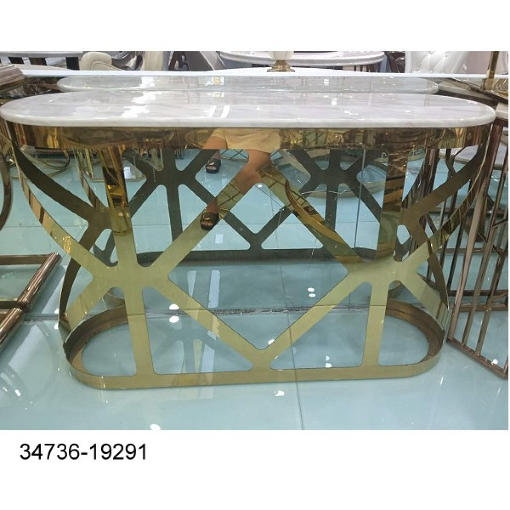 34736-19291 Stainless Console Table