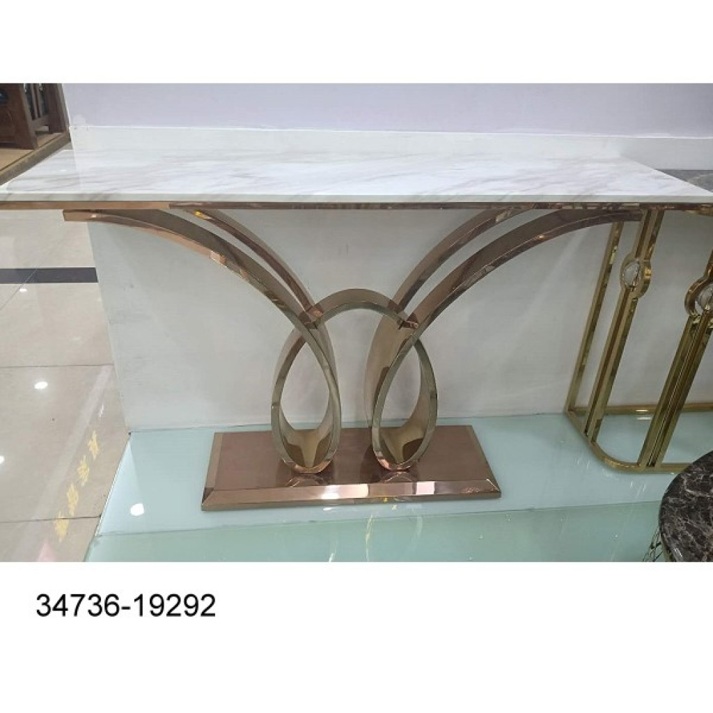 34736-19292 Stainless Console Table