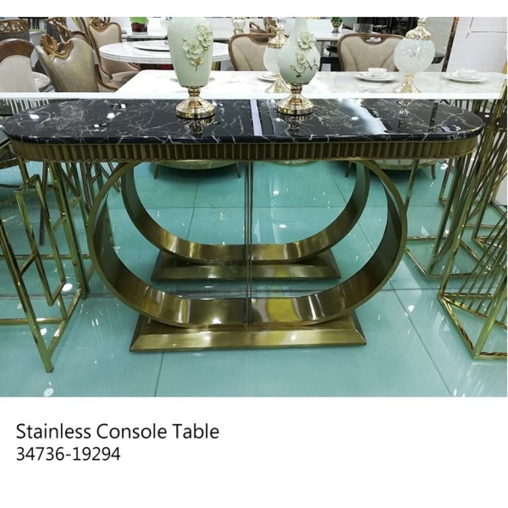 34736-19294 Stainless Console Table