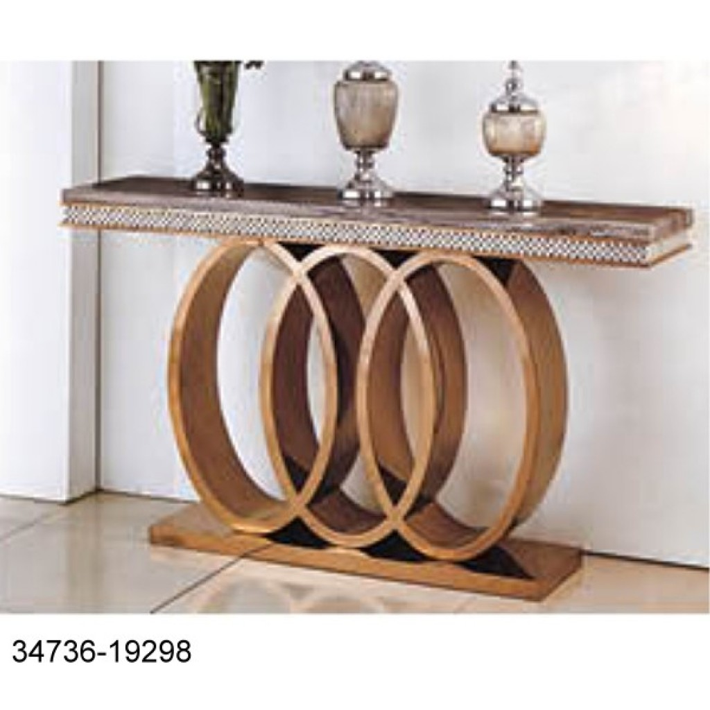 34736-19298 Stainless Console Table
