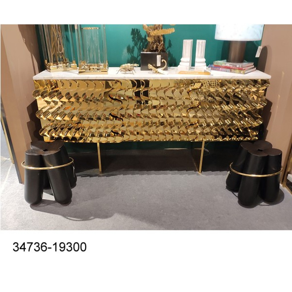34736-19300 Stainless Console Table