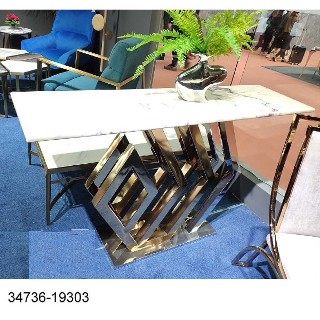 34736-19303 Stainless Console Table