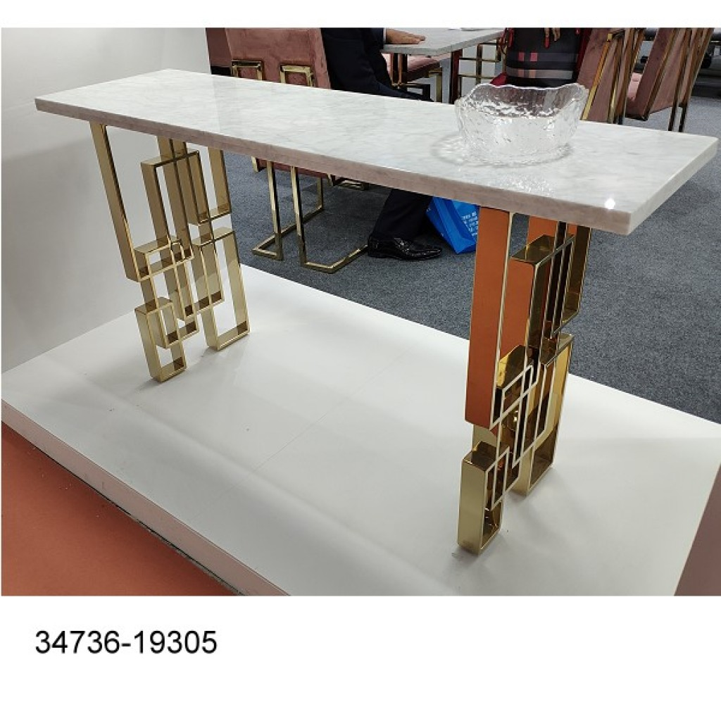 34736-19305 Stainless Console Table