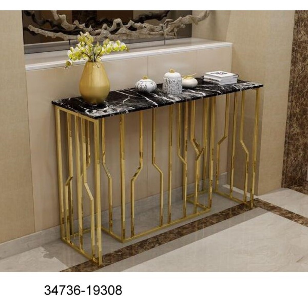 34736-19308 Stainless Console Table