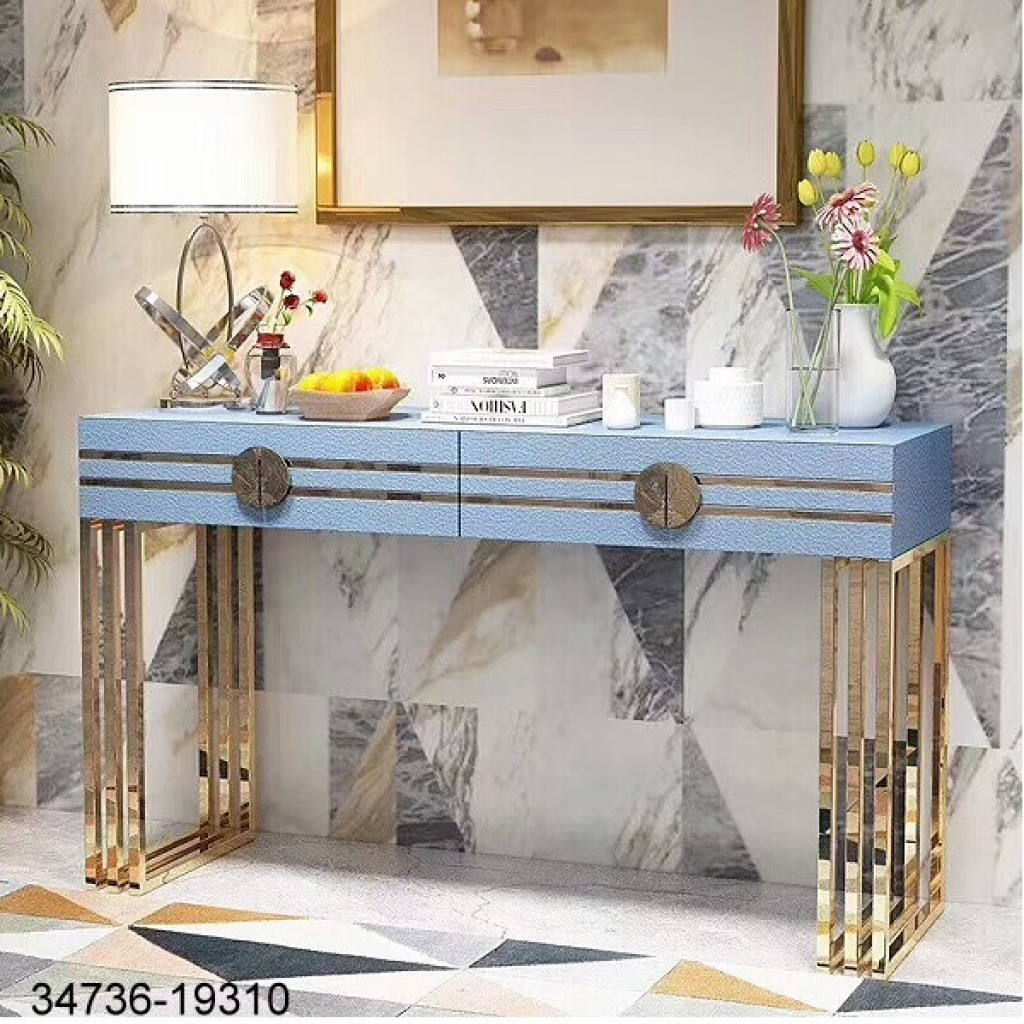 34736-19310 Stainless Console Table