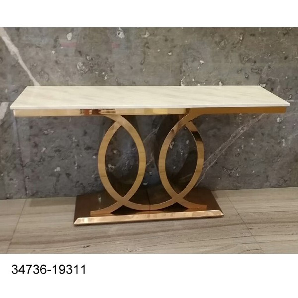 34736-19311 Stainless Console Table