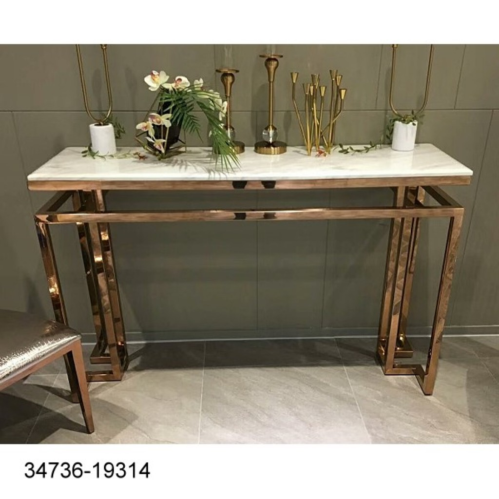 34736-19314 Stainless Console Table
