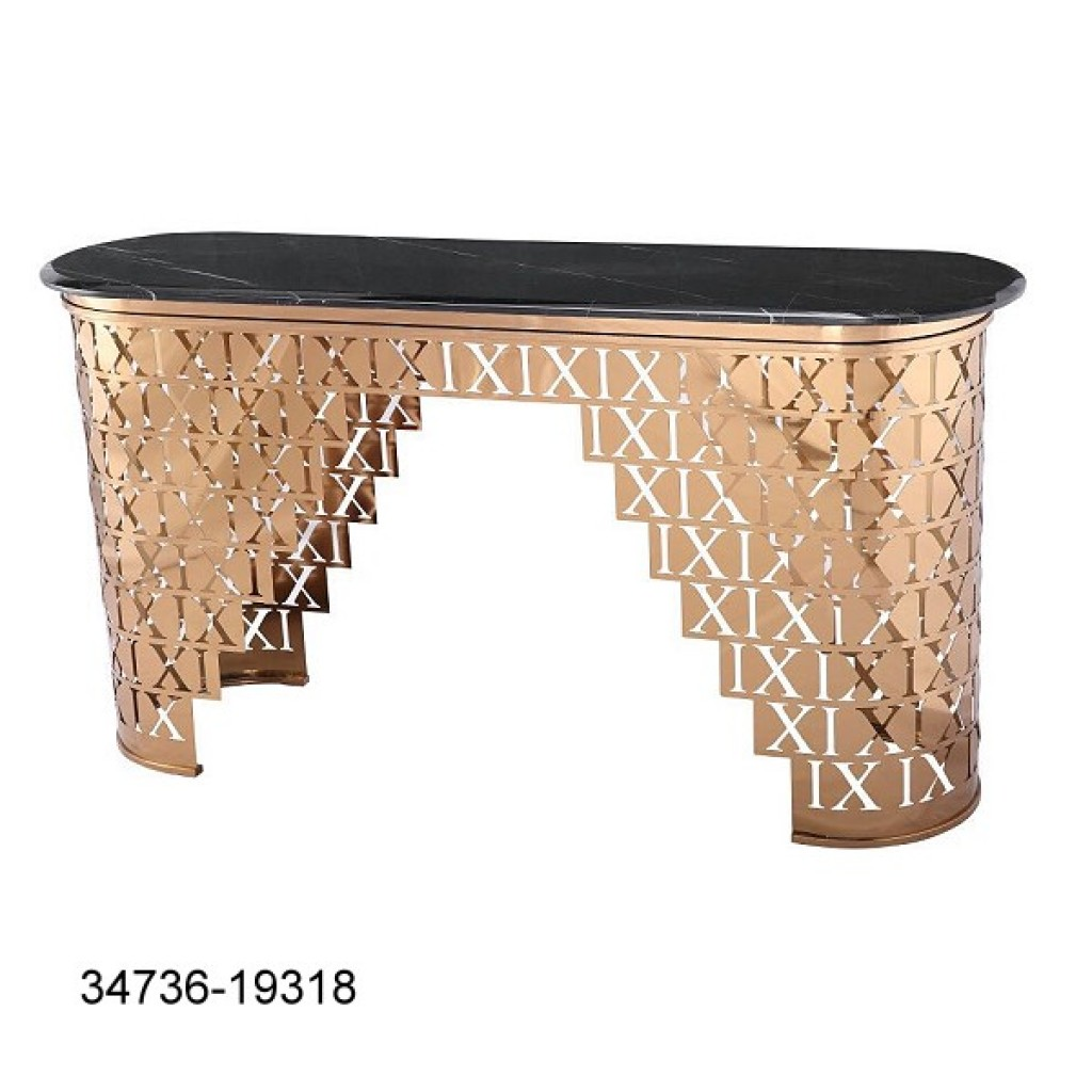 34736-19318 Stainless Console Table