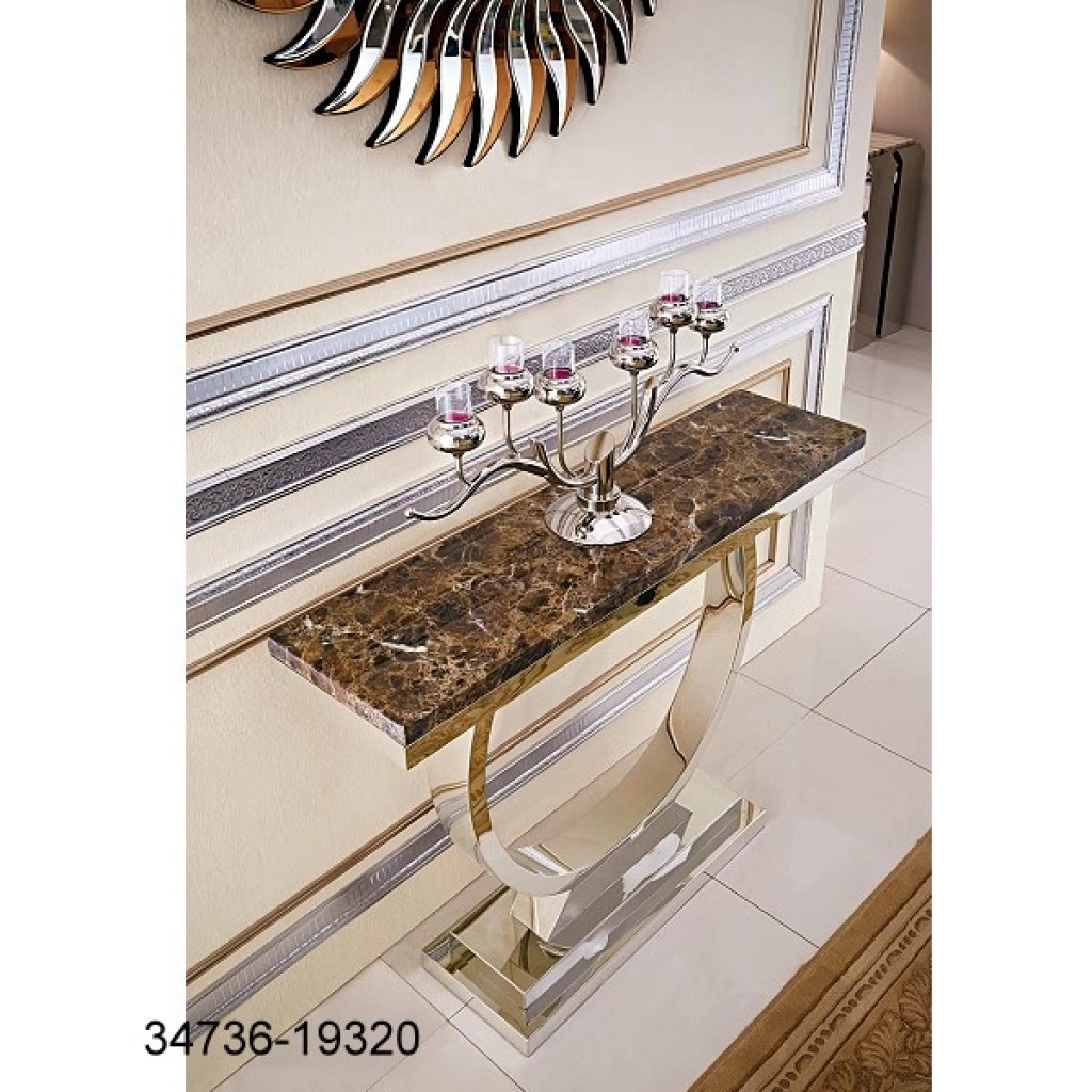 34736-19320 Stainless Console Table