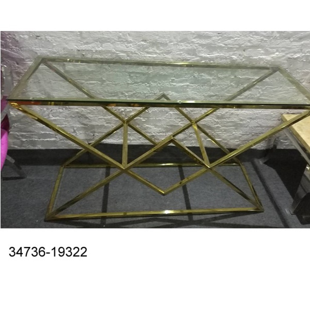 34736-19322 Stainless Console Table