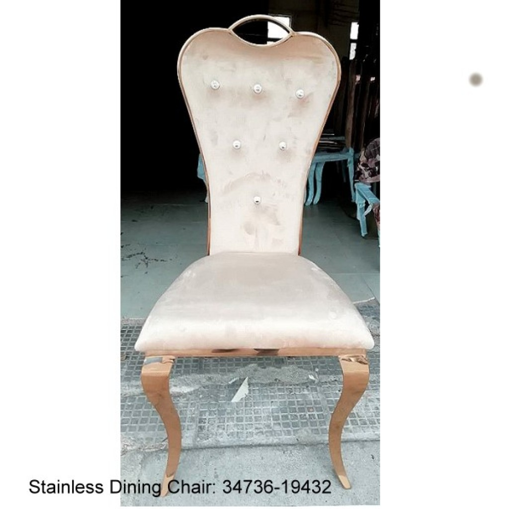 34736-19432 Stainless Dining Chair