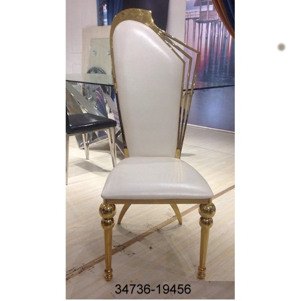 34736-19456 Stainless Dining Chair