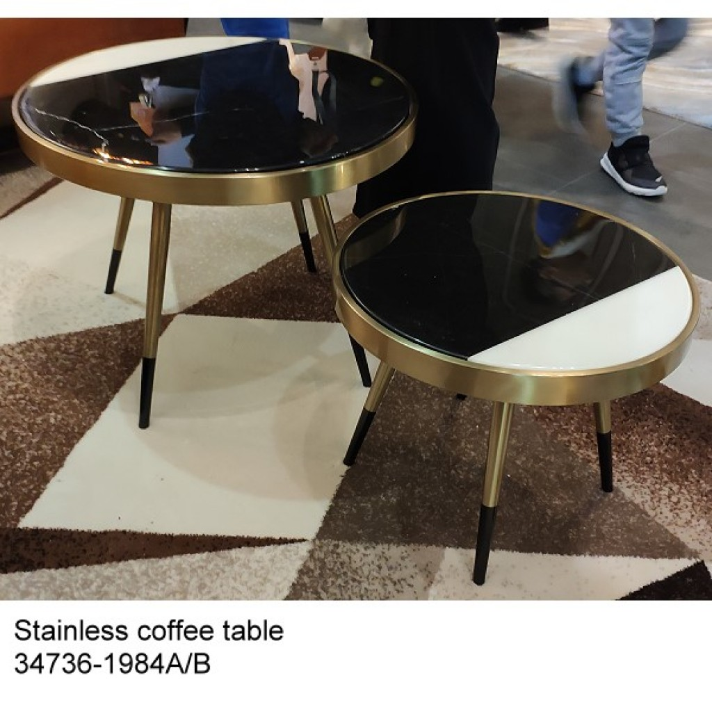 34736-1984-AB Stainless Coffee table