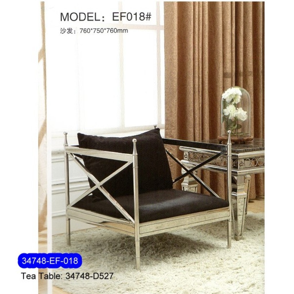 34748-EF-018  Stainless Steel Sofa Set