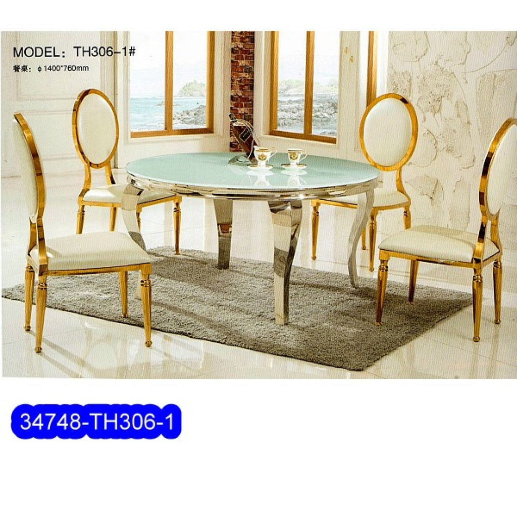 34748-TH-306-1 Stainless Dining Set