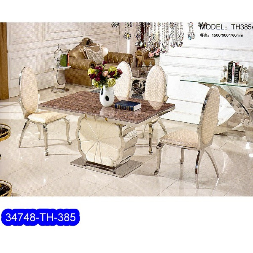 34748-TH-385 Stainless Dining Set
