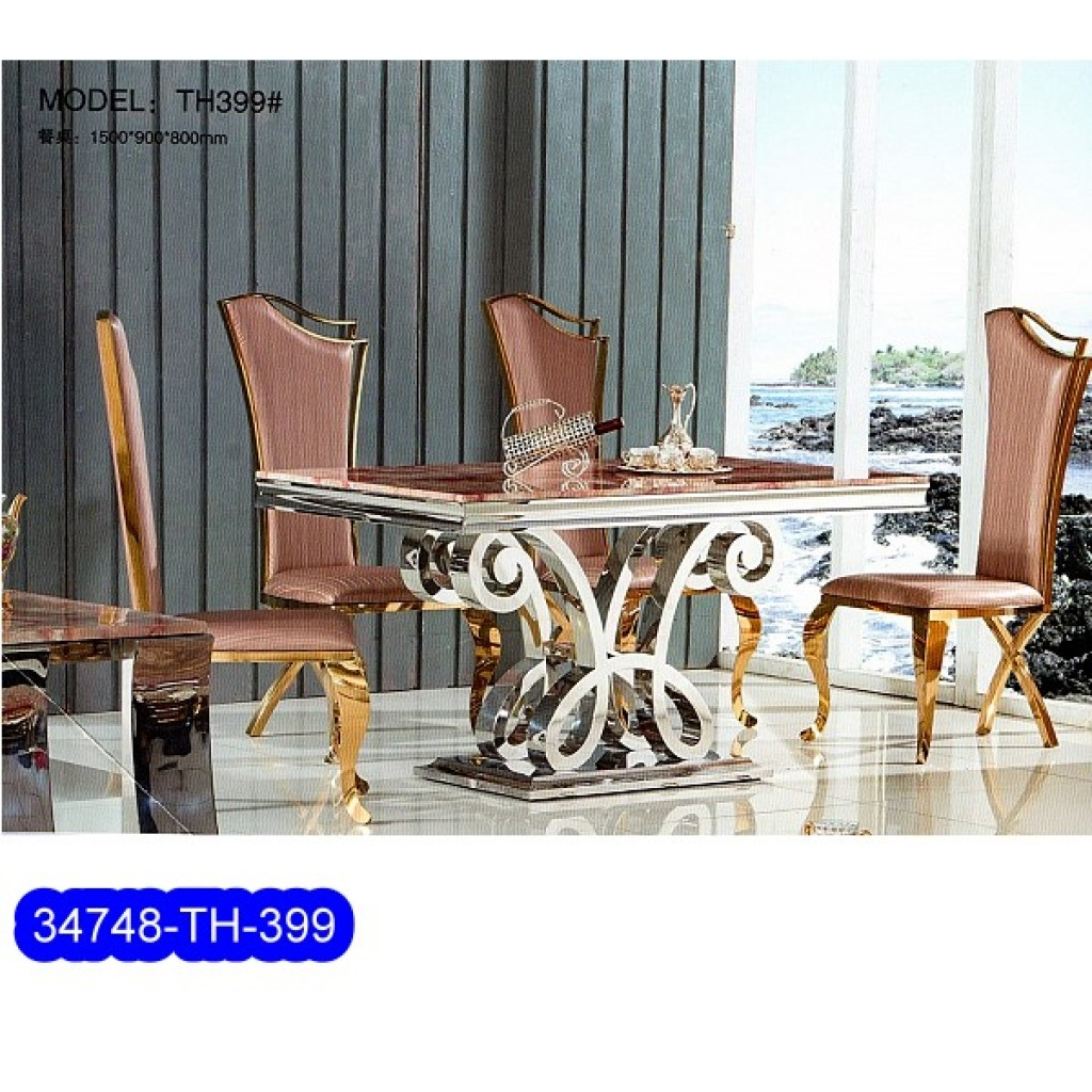 34748-TH-399 Stainless Dining Set