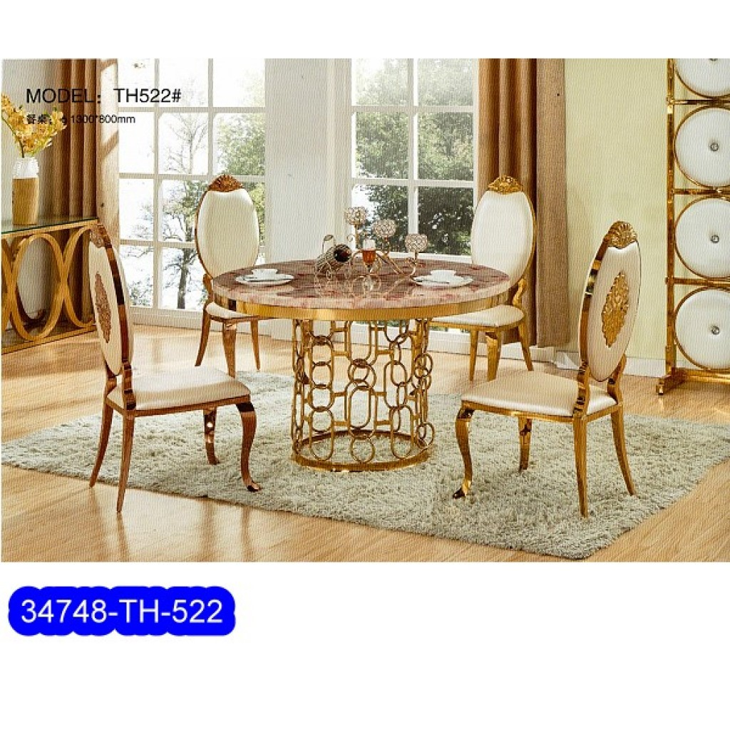34748-TH-522 Stainless Dining Set