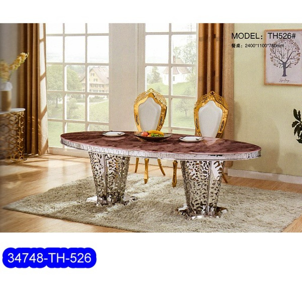 34748-TH-526  Stainless Dining Set