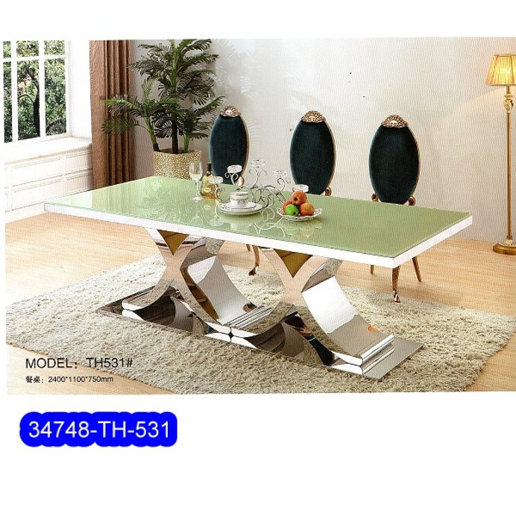 34748-TH-531  Stainless Dining Set