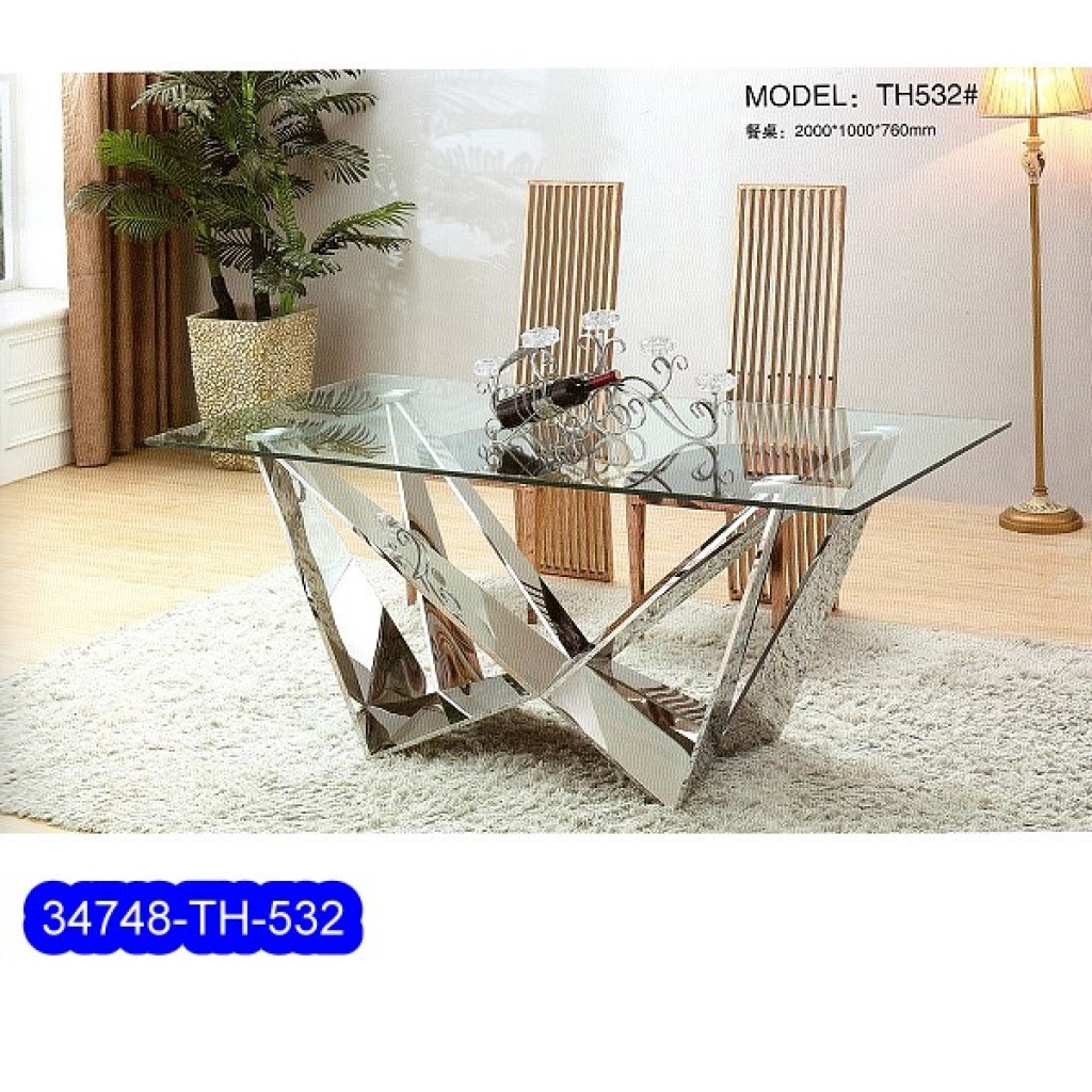34748-TH-532 Stainless Dining Set