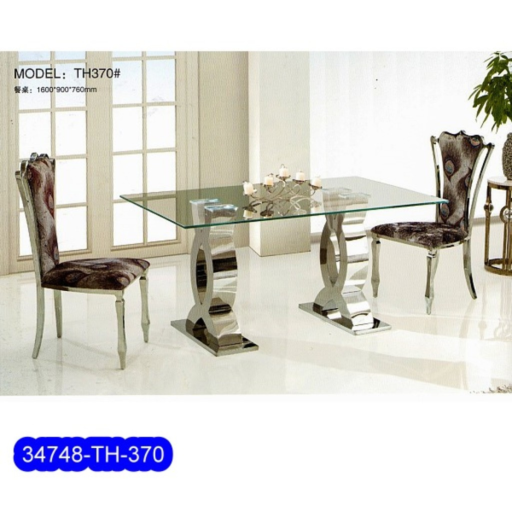 34748-TH-370 Stainless Dining Set