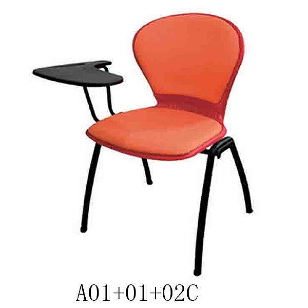 34768-A01+01+02C Plastic School Chair