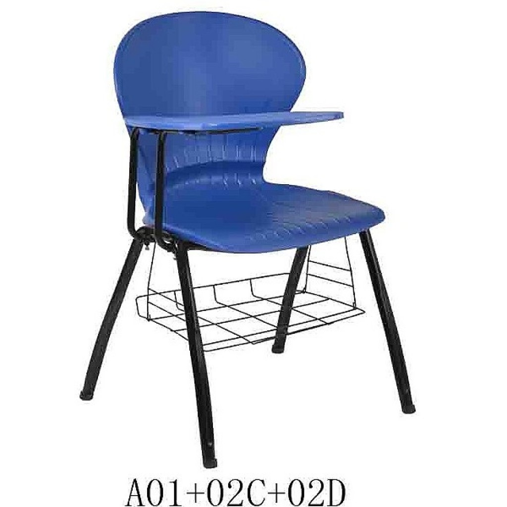 34768-A01+02C+02D Plastic School Chair