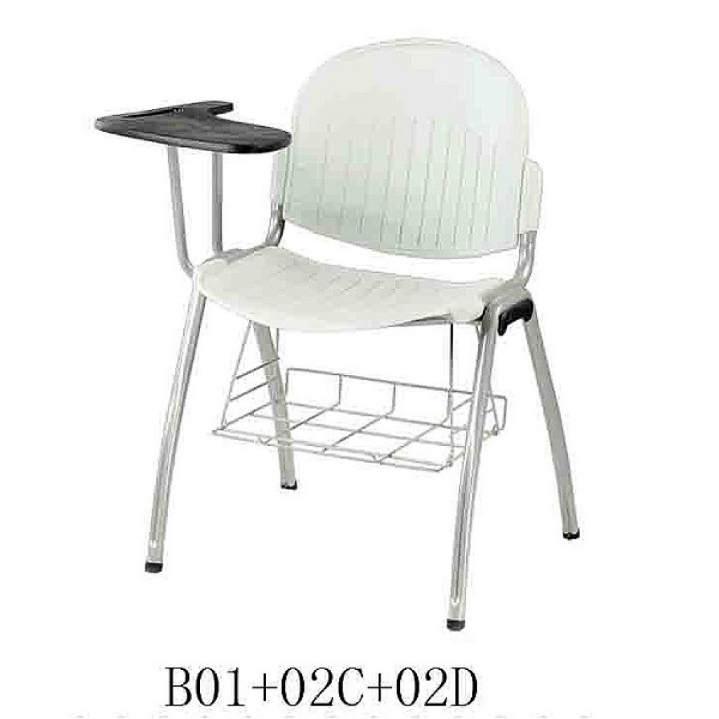 34768-B01+02C+02D Plastic School Chair
