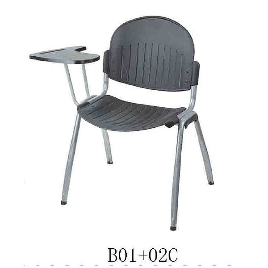 34768-B01+02C Plastic School Chair