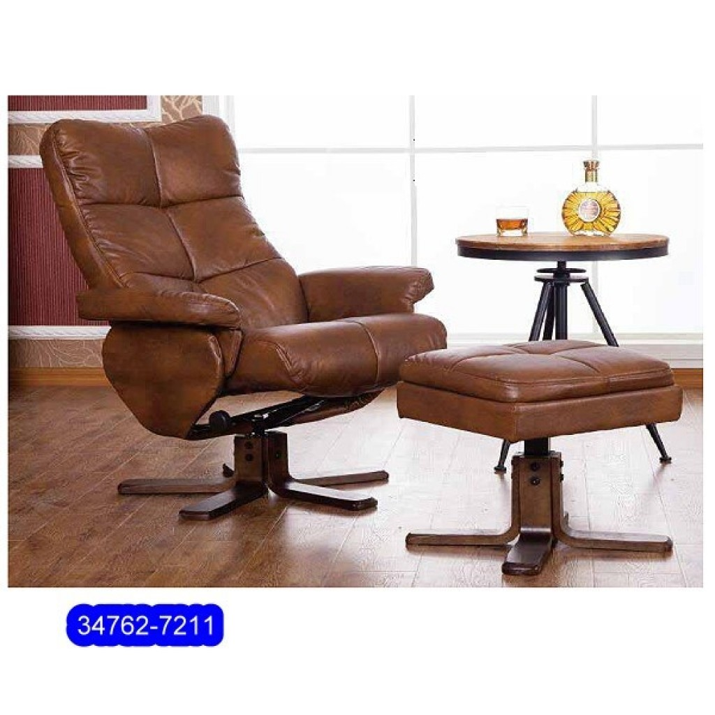34762-7211 Leather Recliner Sofa