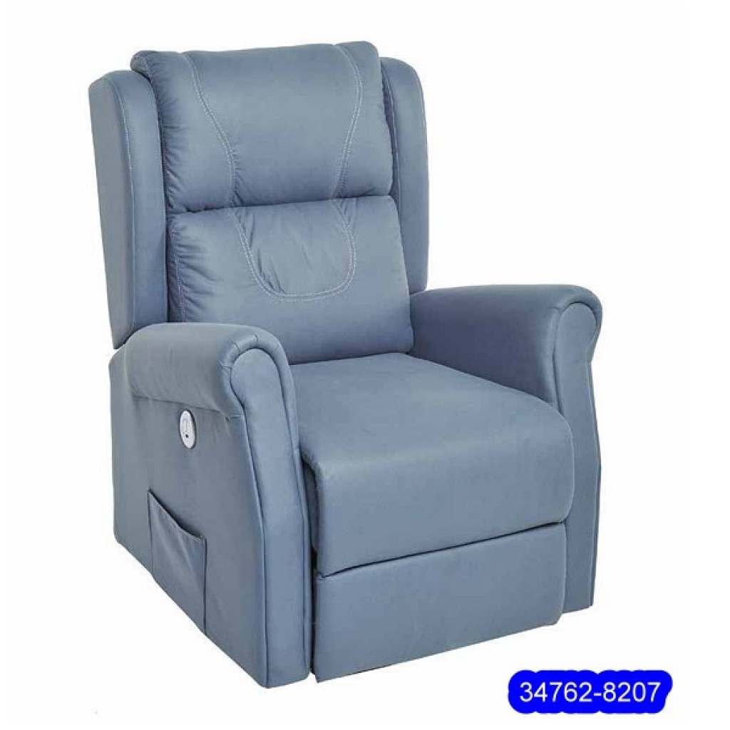 34762-8207  Leather Recliner Sofa