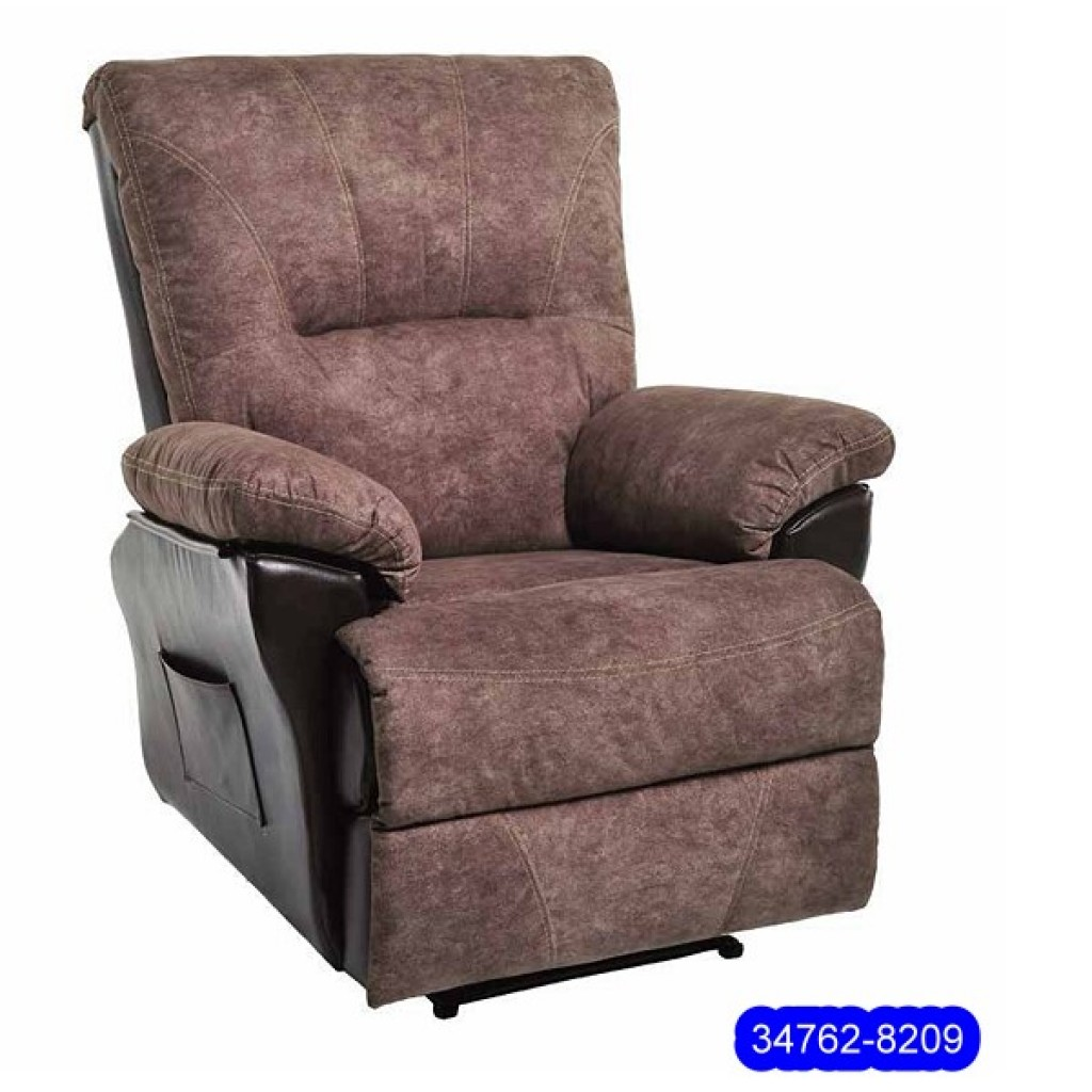 34762-8209 Leathe Recliner Sofa