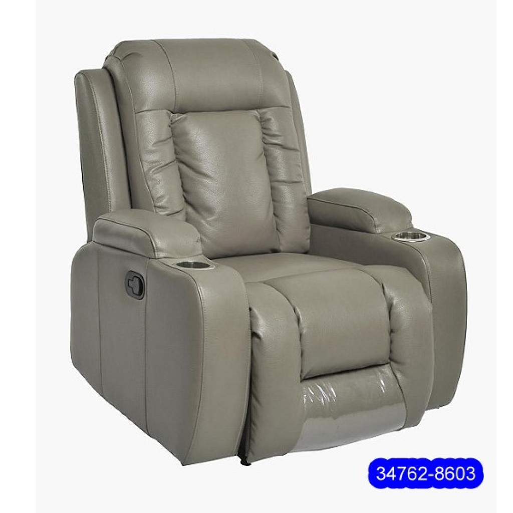 34762-8603  Leathe Recliner Sofa