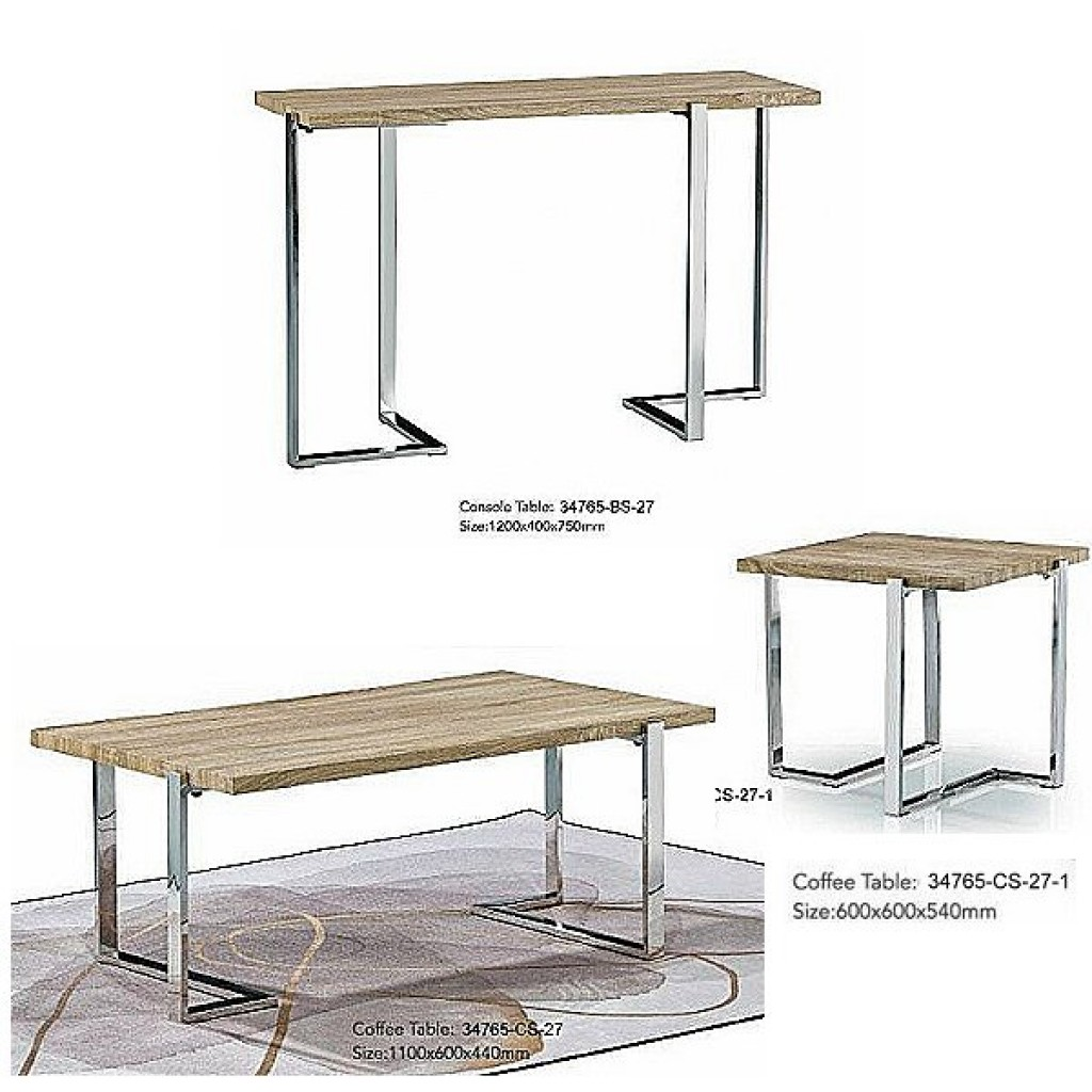 34765-BS-27 Stainless Console Table