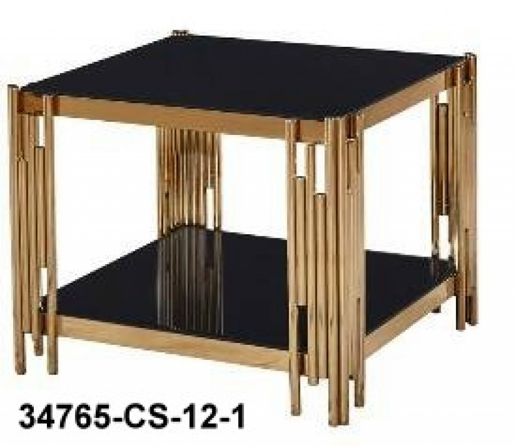 34765-CS-12-1 stainless steel coffee table