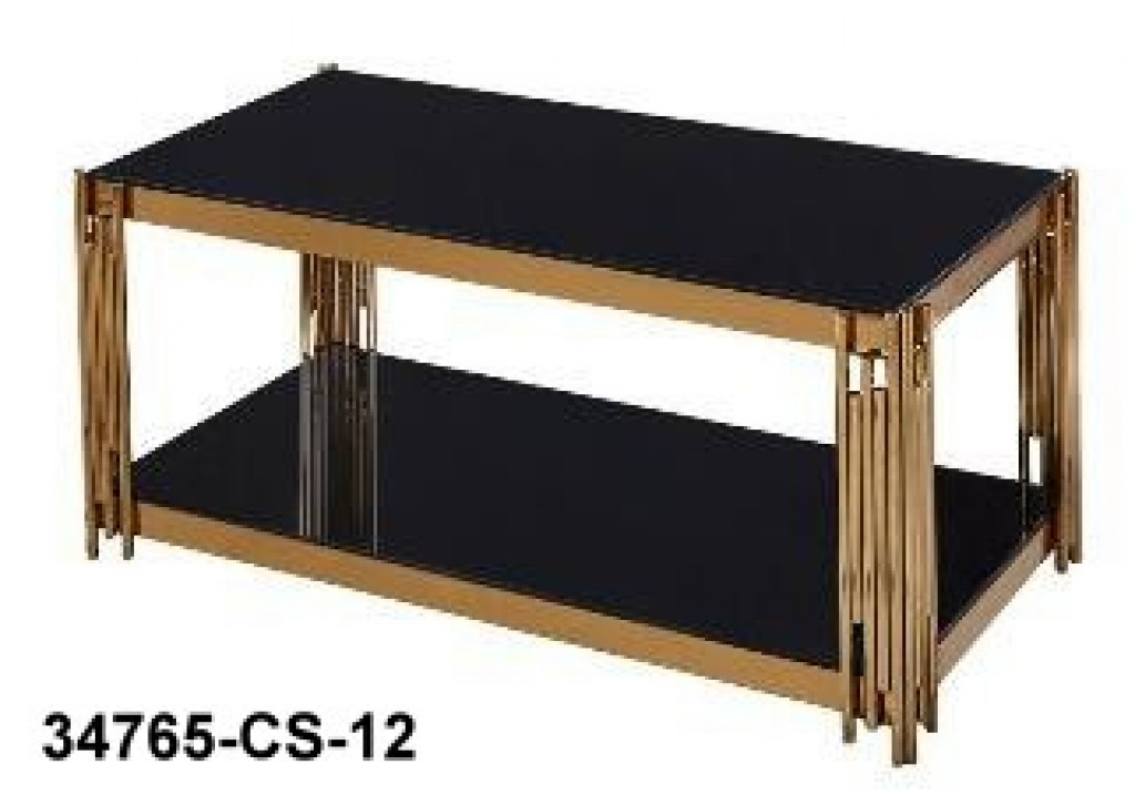 34765-CS-12 stainless steel coffee table