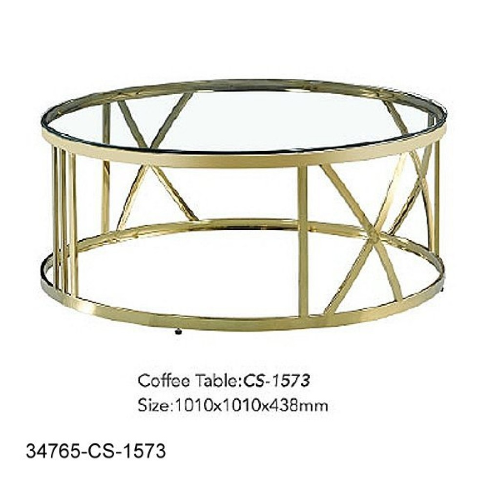 34765-CS-1573 Stainless Coffee Table