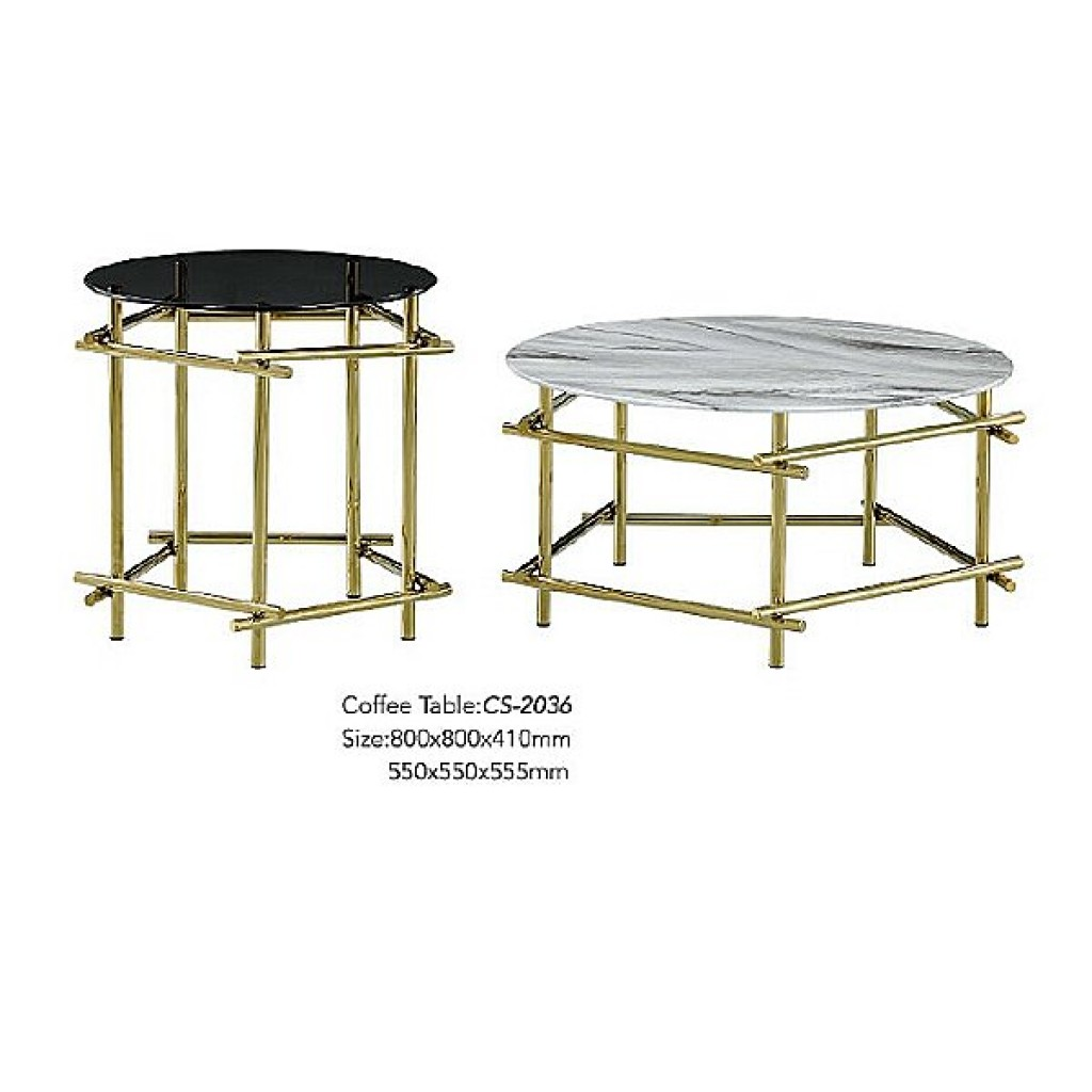 34765-CS-2036 Stainless Coffee Table