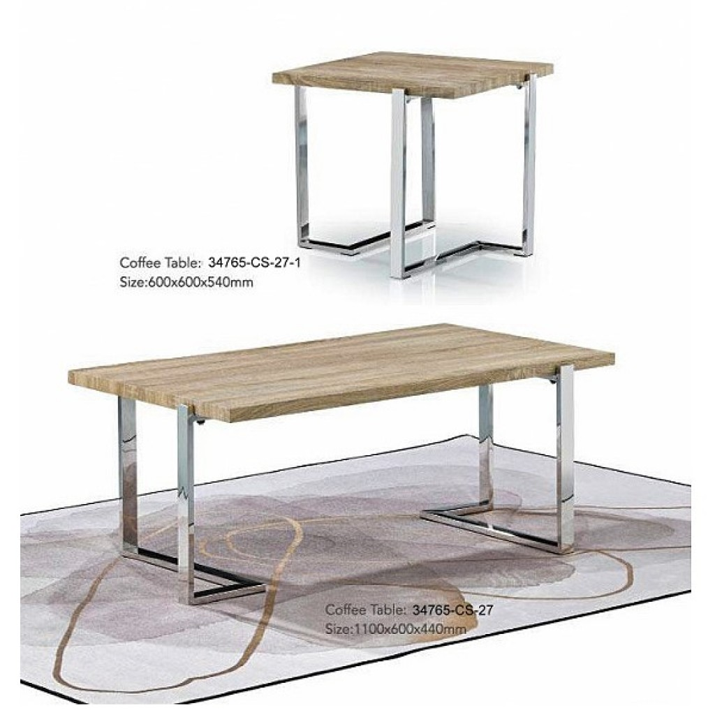 34765-CS-27 Stainless Coffee Table