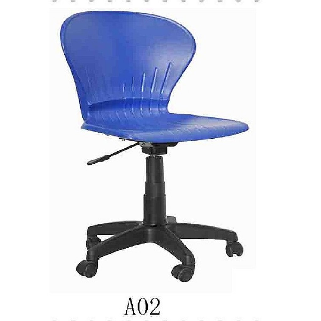 34768-A-02 School Chair with wheels