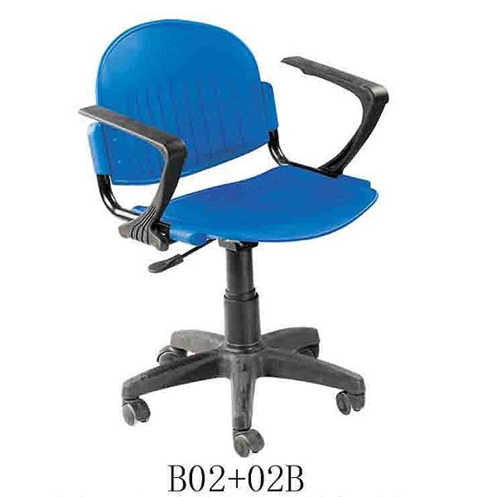 34768-B-02+02B School Chair with wheels