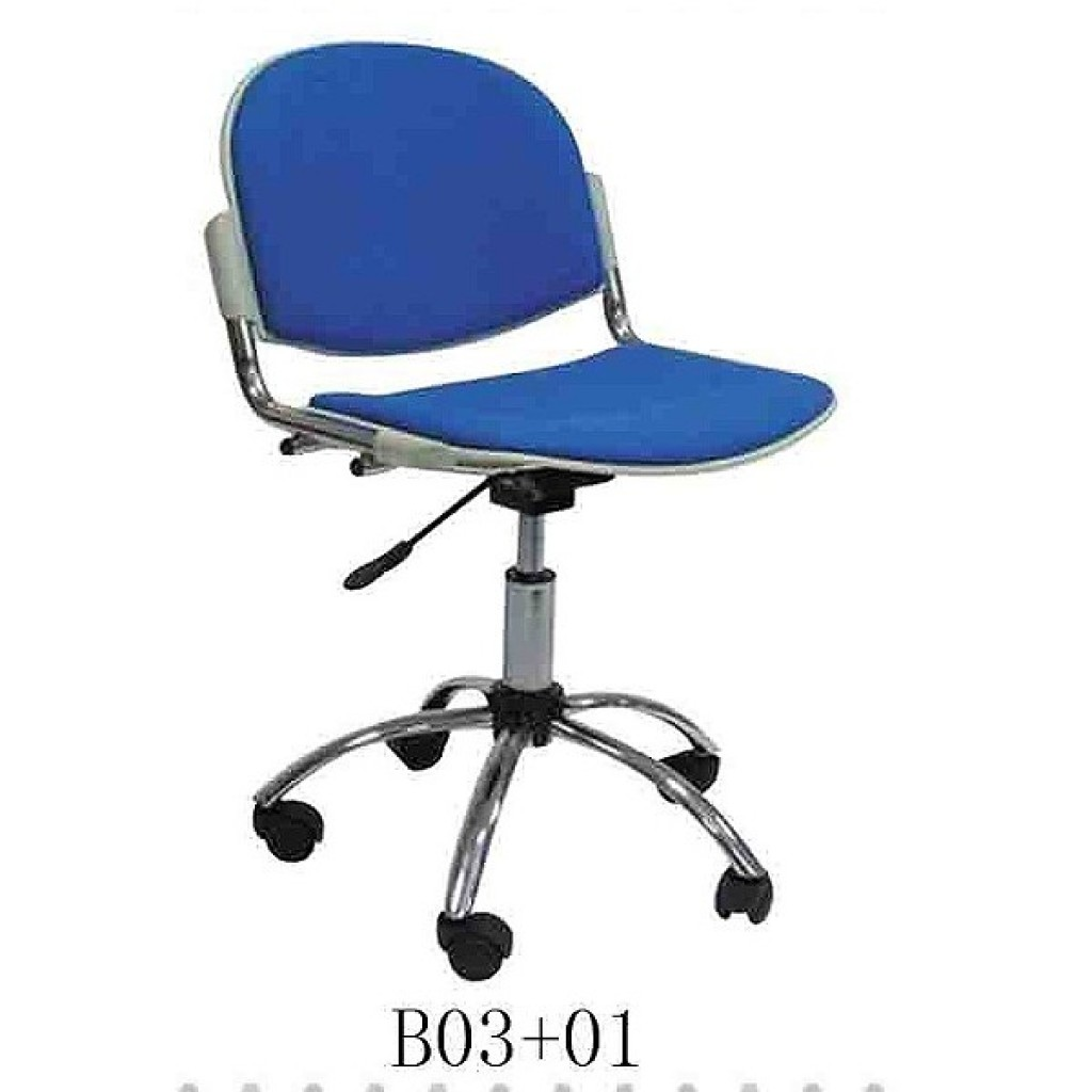 34768-B-03+01 School Chair with wheels