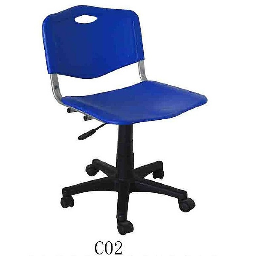 34768-C-02 School Chair with wheels
